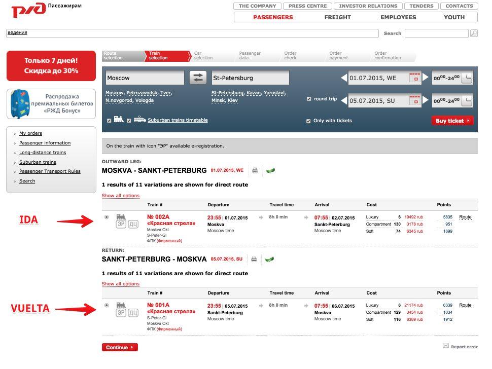 4Treni in Russia- Come acquistare biglietti online senza intermediari