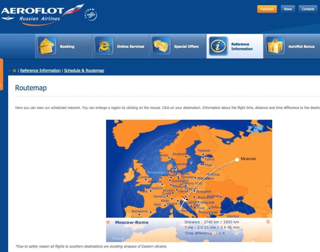 Aeroflot Mosca