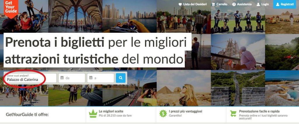Palazzo di Caterina - Prenota tour - escursioni - attivita online 1