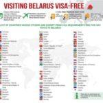 Come viaggiare in Bielorussia senza visto - visa-free