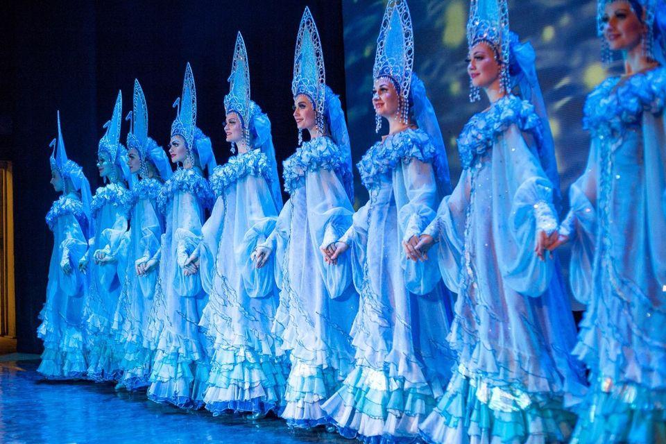 Spettacolo folcloristico russo Kostroma