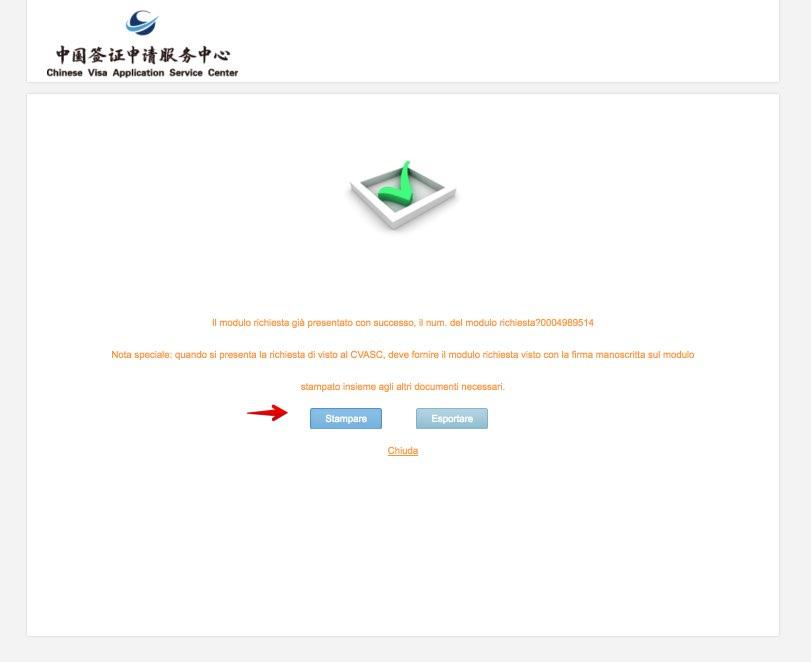 Domanda di visto cinese - Come compilare lapplicazione 13