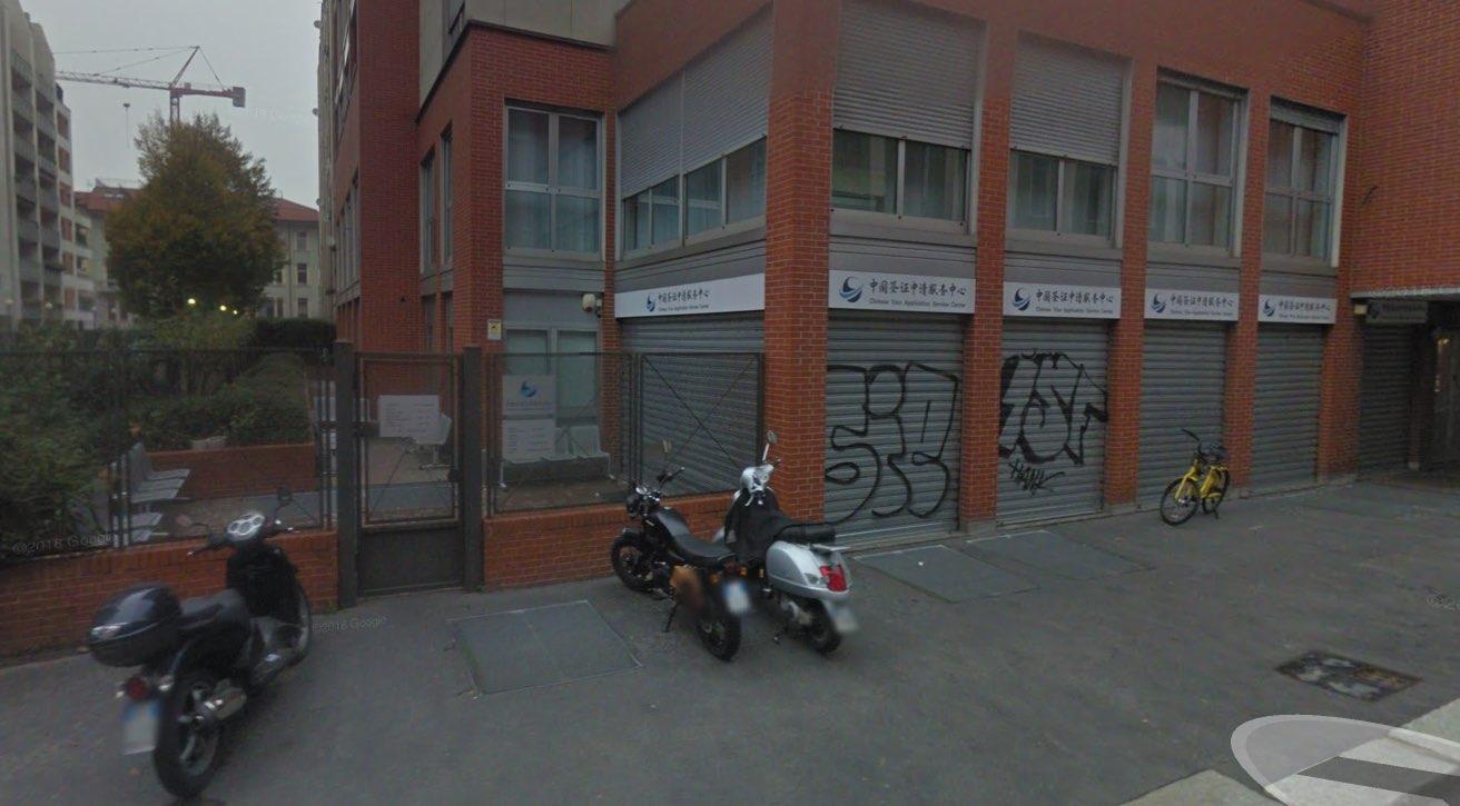 Fotografia del CVASC a Milano