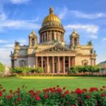 La Cattedrale di Sant Isacco a San Pietroburgo